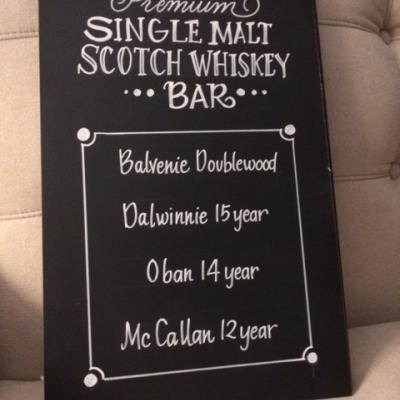Single Malt Scotch Bar
