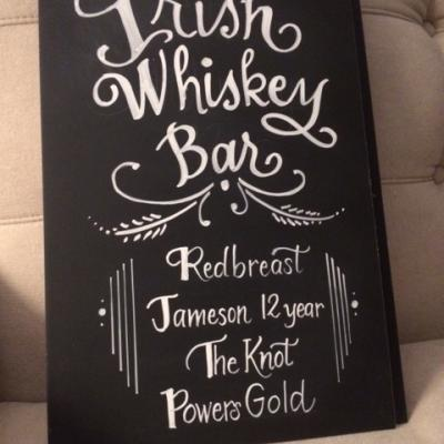 Irish Whiskey Bar